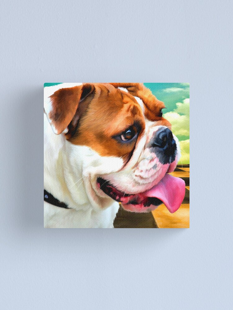 "Alternate view of ""Salvador Doggie"" Canvas Print"