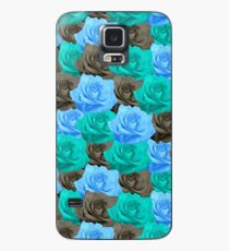 Blue Roses Case/Skin for Samsung Galaxy