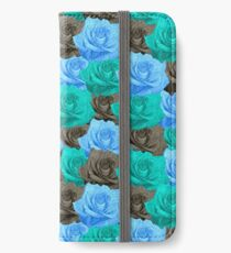 Blue Roses iPhone Wallet/Case/Skin