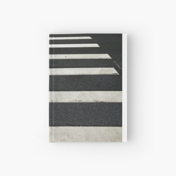 #Zebra #crossing, New York, #Manhattan, #Brooklyn, New York City, architecture, street, building, tree, car, Hardcover Journal