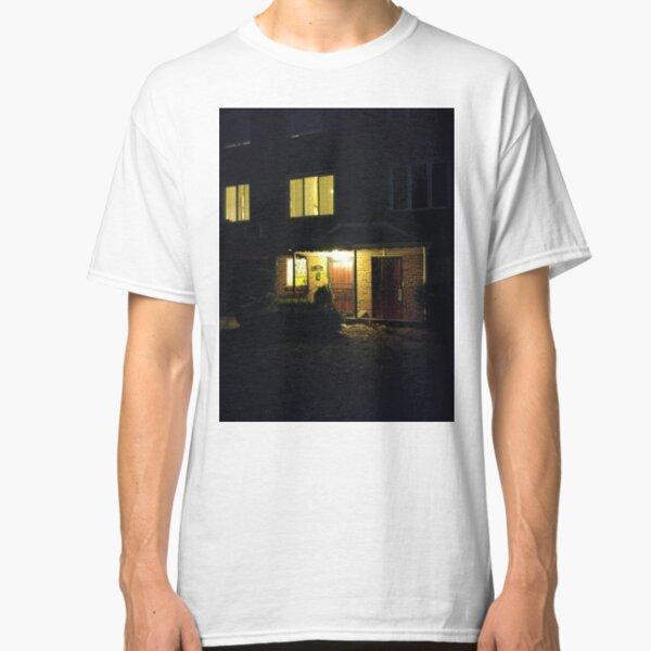 House, New York, Manhattan, Brooklyn, New York City, architecture, street, building, tree, car,   Classic T-Shirt