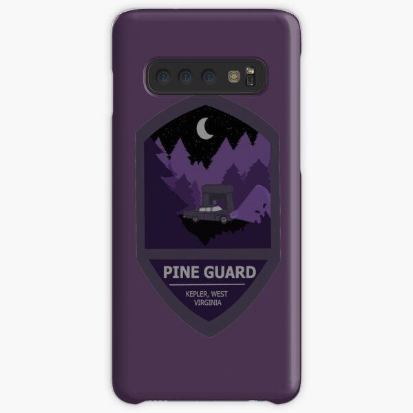 Pine Guard Badge Samsung Galaxy Snap Case