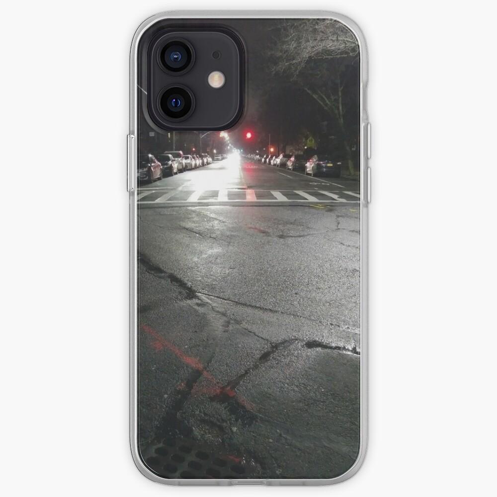 Asphalt, New York, Manhattan, Brooklyn, New York City, architecture, street, building, tree, car,   iPhone Case