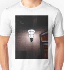 Light, New York, Manhattan, Brooklyn, New York City, architecture, street, building, tree, car,   Unisex T-Shirt