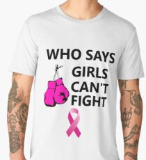 Funny Beat Breast Cancer T-Shirt for Women Girls  Men's Premium T-Shirt