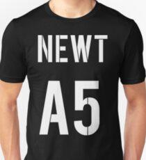 Newt Subject A5 - On Back Unisex T-Shirt