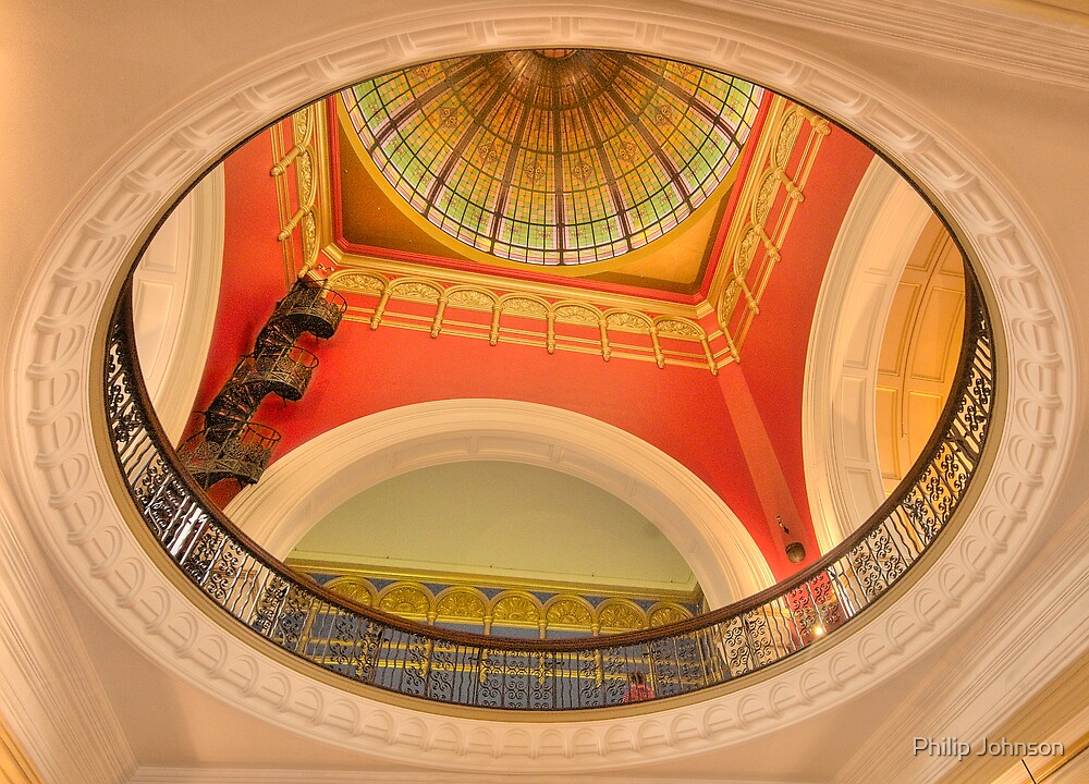 The Grand Dome - Queen Victoria Building , Sydney - TheHDR Experience by Philip Johnson