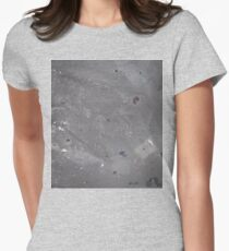 Wet Cement Women's Fitted T-Shirt