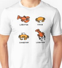 Lobster + Crab Unisex T-Shirt