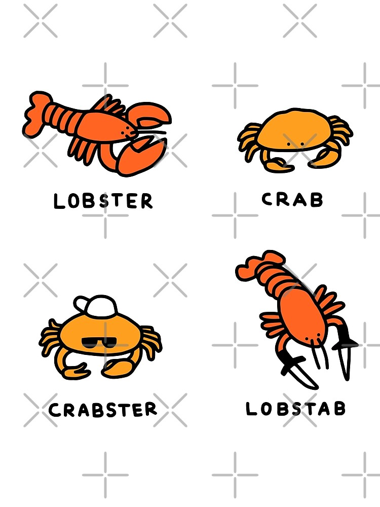 Lobster + Crab by obinsun