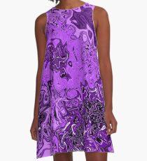 Purple Refrain A-Line Dress
