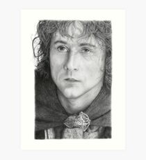 Billy Boyd Graphite portrait Art Print