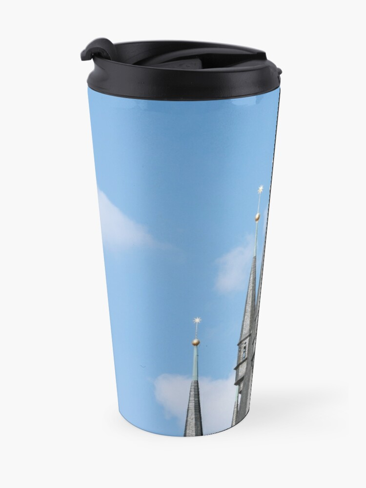 Alternate view of Church of our Lady. Travel Mug