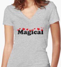 Magical af Women's Fitted V-Neck T-Shirt