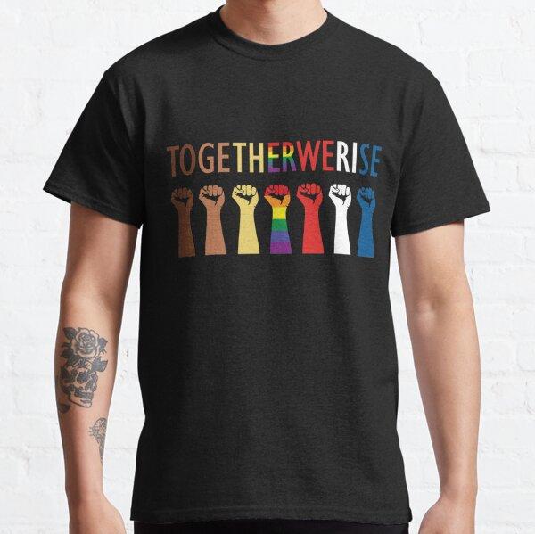 Juntos nos levantamos diseño de la unidad Camiseta clásica