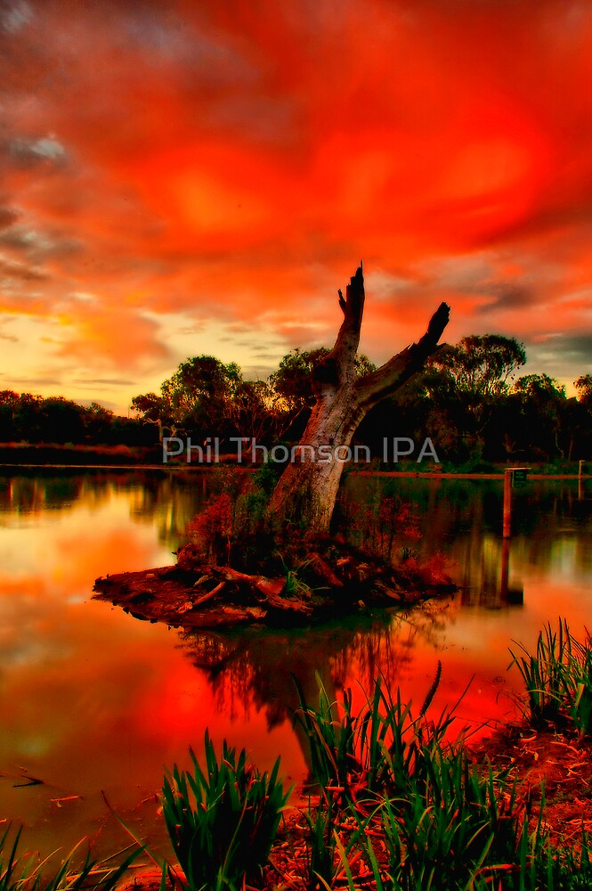 """Sundown at Balyang"" by Phil Thomson IPA"