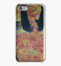 burning woman iPhone Case/Skin