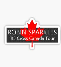 ROBIN SPARKLES - 1995 Tour Sticker