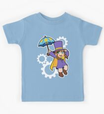 Hat Girl Kids Tee
