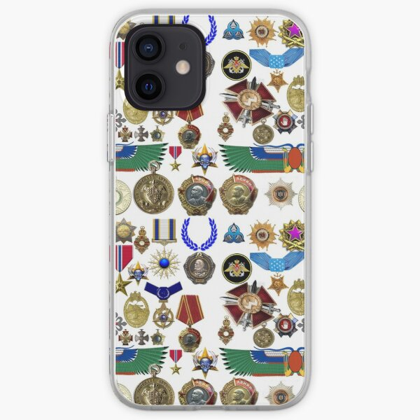 Medals, orders, awards, carnival, orders bearer's costume, king, emperor, Caesar iPhone Soft Case