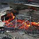 Victorian Bushfires....Yea-Glenburn area 3 by John Vandeven