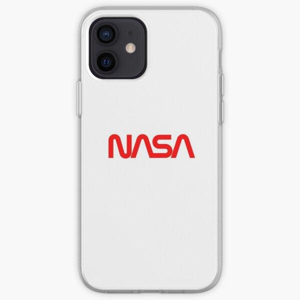"""Retro NASA logo - NASA """"Worm"""" Logo - Vintage NASA iPhone Soft Case"""