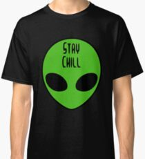 Stay Chill Alien Classic T-Shirt
