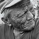 Portrait of the Filipino as an old man by catedral01