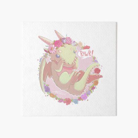 Dragon Print Art Board Print