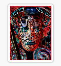 Maori Warrior Sticker
