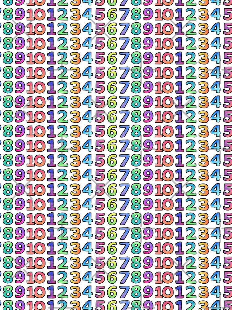 Rainbow Numbers by AdrienneBody