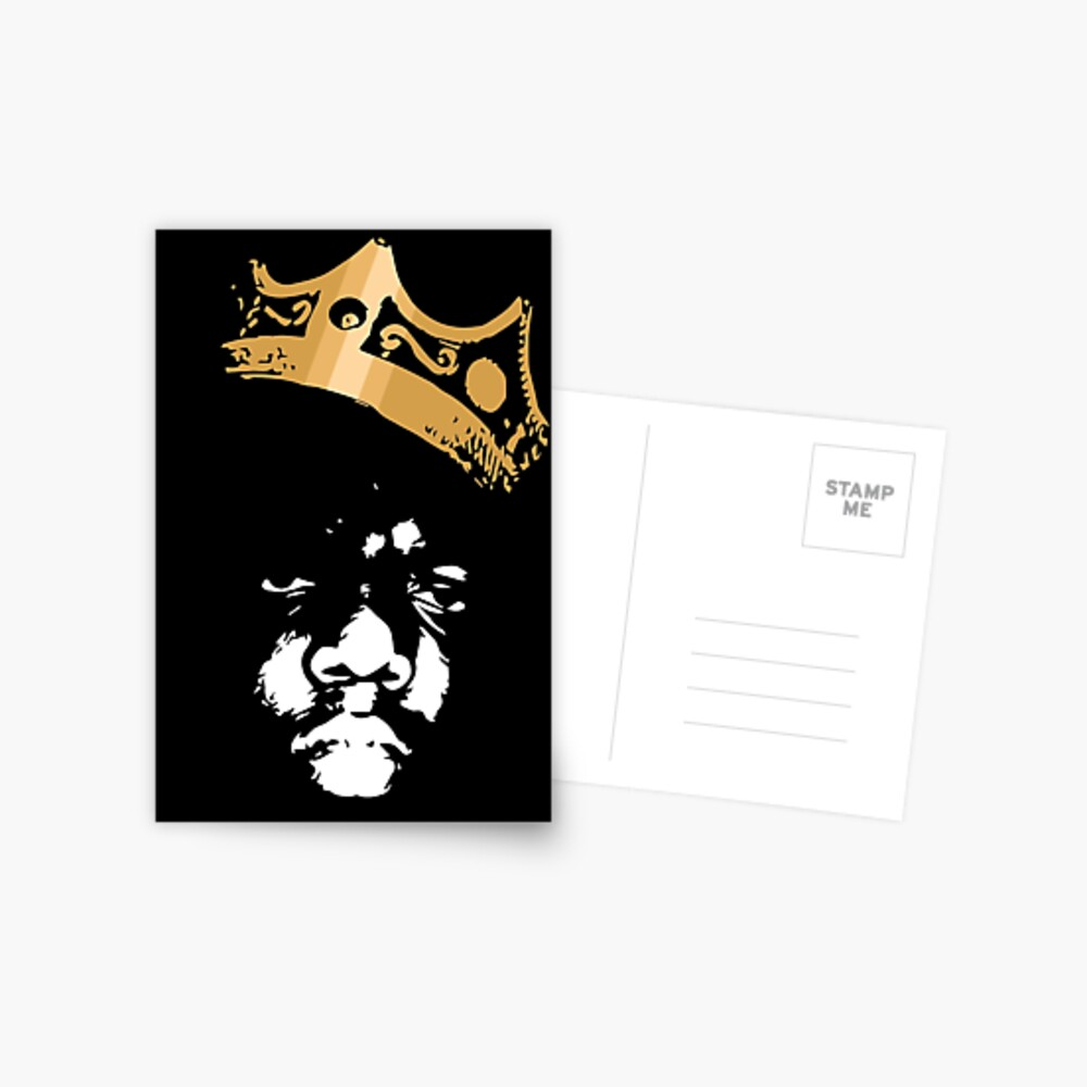 King Biggie Postcard