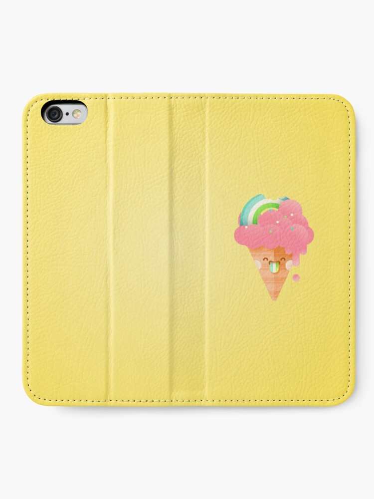 Alternate view of Strawberry Rainbow iPhone Wallet