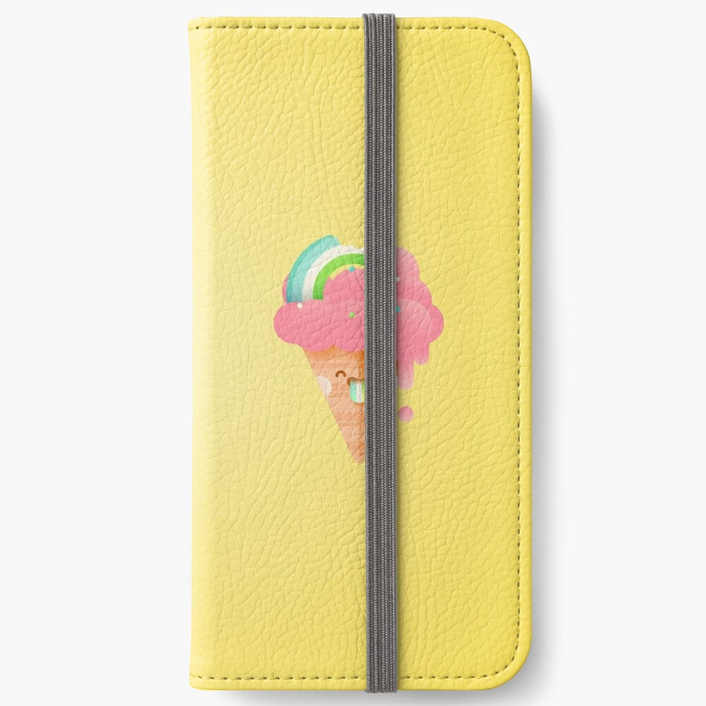 Strawberry Rainbow iPhone Wallet