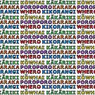 Te Reo Maori - Colours by Adrienne Body
