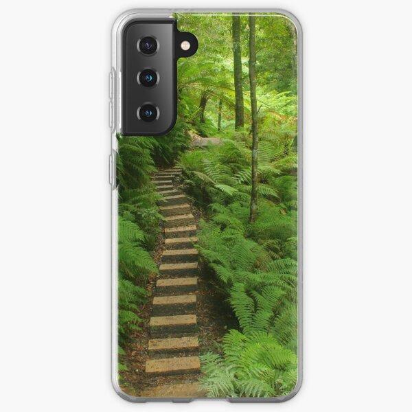 Pathway of ferns Samsung Galaxy Soft Case
