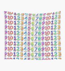 Te Reo Maori - Numbers Wall Tapestry
