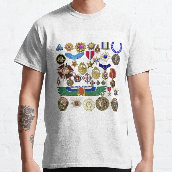 medals, orders, awards, carnival, orders bearer's costume, king, emperor, Caesar Classic T-Shirt