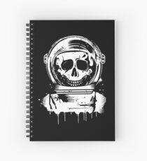 Skull Astronaut Graffiti Stencil Spiralblock