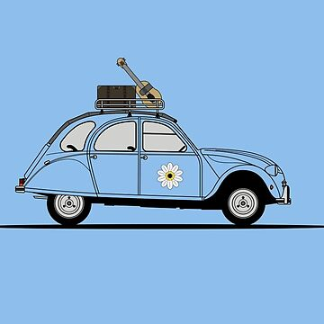 Citroen 2CV by 3pedaldriving