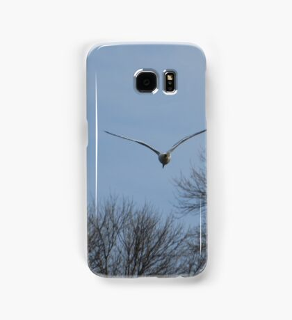 Seagull Over Trees Samsung Galaxy Case/Skin