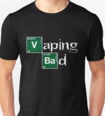 Vaping Bad Heisenberg vape vaper steamer vaping Unisex T-Shirt