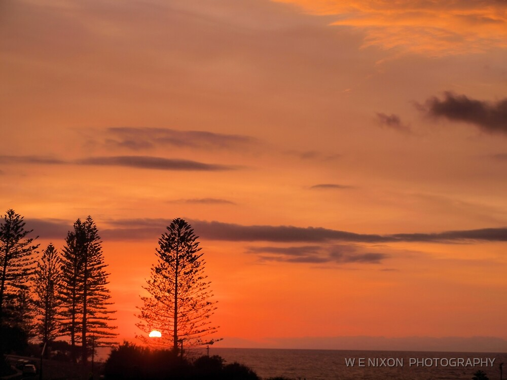 Kings Beach Sunrise by W E NIXON  PHOTOGRAPHY