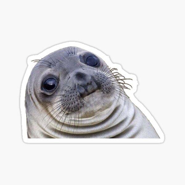 seal meme Sticker