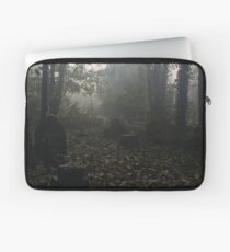 Misty graveyard Laptop Sleeve