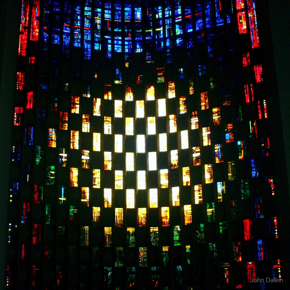 Coventry Cathedral Window Wall by John Dalkin