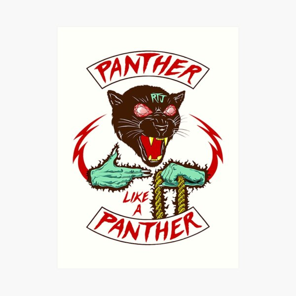 Panther Like A Panther - Run The Jewels Art Print