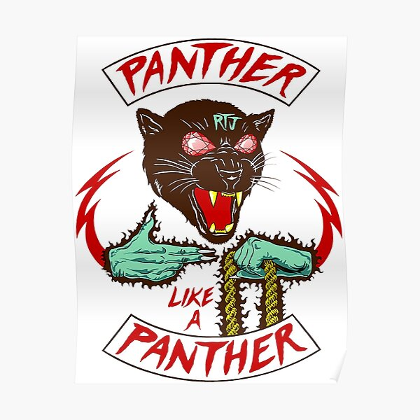 Panther Like A Panther - Run The Jewels Poster