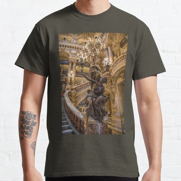 France. Paris. Opera Garnier. Chandelier. Classic T-Shirt
