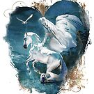 Flights of Fancy My Winged White Horse by Janice O'Connor